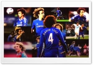 David Luiz HD Wide Wallpaper for Widescreen