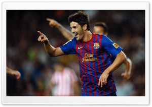 David Villa HD Wide Wallpaper for Widescreen