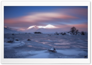 Dawn on the Black Mount HD Wide Wallpaper for Widescreen