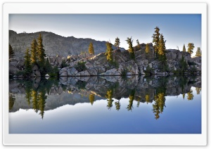 Dawn, Seavey Pass, Yosemite National Park HD Wide Wallpaper for Widescreen