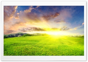 Dazzling Sun HD Wide Wallpaper for Widescreen