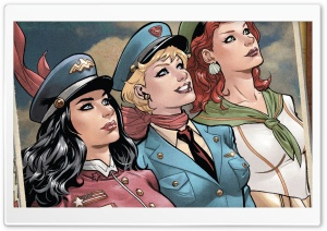 DC Bombshells HD Wide Wallpaper for 4K UHD Widescreen desktop & smartphone