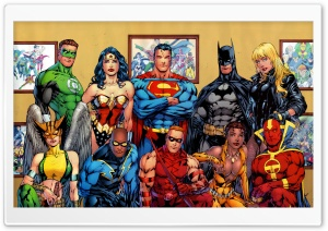 DC Comics Superheroes HD Wide Wallpaper for Widescreen
