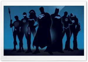 DC Heroes Ultra HD Wallpaper for 4K UHD Widescreen desktop, tablet & smartphone