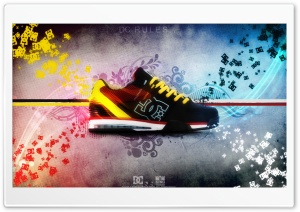 DC Shoe HD Wide Wallpaper for Widescreen