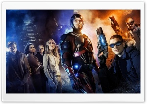 DCs Legends of Tomorrow HD Wide Wallpaper for 4K UHD Widescreen desktop & smartphone