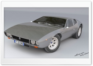 De Tomaso HD Wide Wallpaper for Widescreen