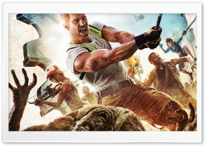 Dead Island 2 Video Game HD Wide Wallpaper for Widescreen