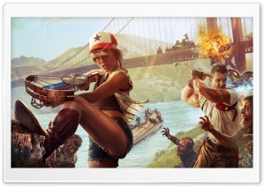 Dead Island 2 HD Wide Wallpaper for Widescreen