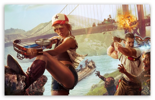 Download Dead Island 2 UltraHD Wallpaper