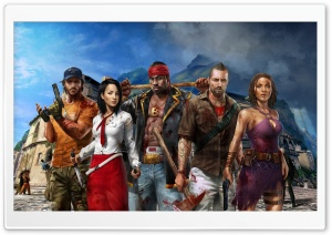 Dead Island Riptide HD Wide Wallpaper for Widescreen