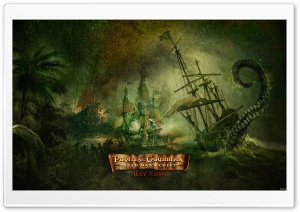 Dead Man's Chest Pirates Of The Caribbean HD Wide Wallpaper for Widescreen