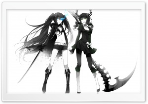 Dead Master   Black Rock Shooter HD Wide Wallpaper for Widescreen