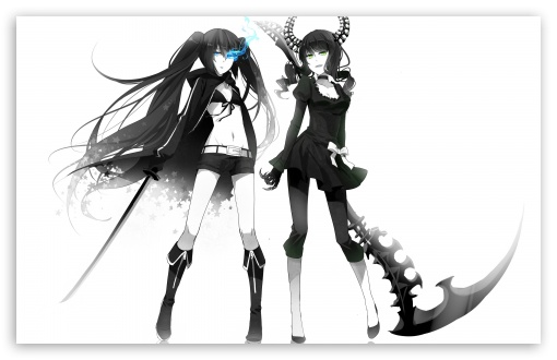 Dead Master   Black Rock Shooter HD wallpaper for Wide 16:10 5:3 Widescreen WHXGA WQXGA WUXGA WXGA WGA ; Standard 4:3 3:2 Fullscreen UXGA XGA SVGA DVGA HVGA HQVGA devices ( Apple PowerBook G4 iPhone 4 3G 3GS iPod Touch ) ; iPad 1/2/Mini ; Mobile 4:3 5:3 3:2 - UXGA XGA SVGA WGA DVGA HVGA HQVGA devices ( Apple PowerBook G4 iPhone 4 3G 3GS iPod Touch ) ;