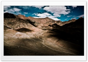 Dead Mountains Valley HD Wide Wallpaper for Widescreen