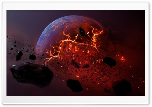 Dead Planet - By Roy Korpel HD Wide Wallpaper for 4K UHD Widescreen desktop & smartphone