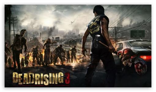 Dead Rising 4 Wallpaper: Dead Rising 3 4K HD Desktop Wallpaper For 4K Ultra HD TV