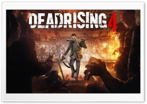 Dead Rising 4 HD Wide Wallpaper for Widescreen