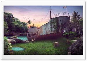 Dead Ship Ultra HD Wallpaper for 4K UHD Widescreen desktop, tablet & smartphone
