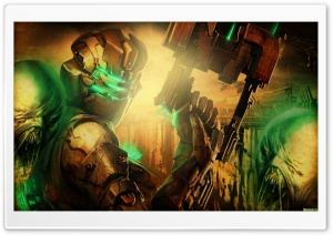 Dead Space 2 Game HD Wide Wallpaper for Widescreen