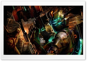 Dead Space 2 Game Art HD Wide Wallpaper for Widescreen