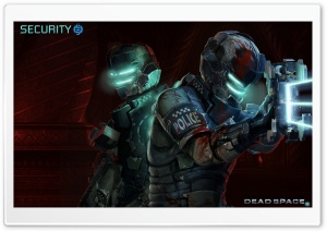 Dead Space 2, Security Team HD Wide Wallpaper for Widescreen