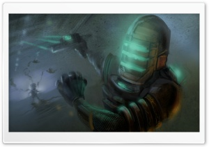 Dead Space 3 Concept Art HD Wide Wallpaper for Widescreen