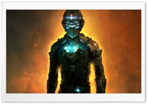 Dead Space Isaac Clarke HD Wide Wallpaper for Widescreen