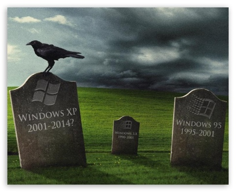 Dead Windows Xp Ultra Hd Desktop Background Wallpaper For