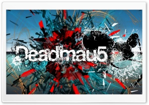 deadmau5 Exploseion two HD Wide Wallpaper for Widescreen