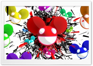 deadmau5 Explosion HD Wide Wallpaper for Widescreen