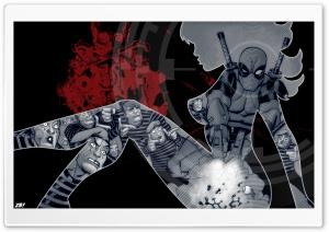 Deadpool I HD Wide Wallpaper for 4K UHD Widescreen desktop & smartphone