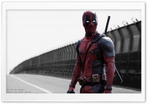DeadPool in Iran by Amir Rezaeyan sadr Highway HD Wide Wallpaper for Widescreen