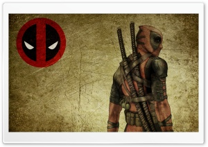 Deadpool Wade Wilson HD Wide Wallpaper for Widescreen