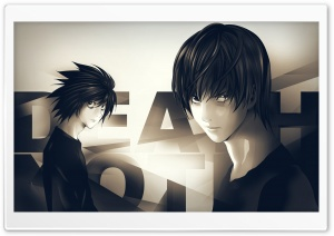 Death Note Anime HD Wide Wallpaper for Widescreen