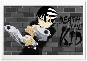 Death the Kid Ultra HD Wallpaper for 4K UHD Widescreen desktop, tablet & smartphone