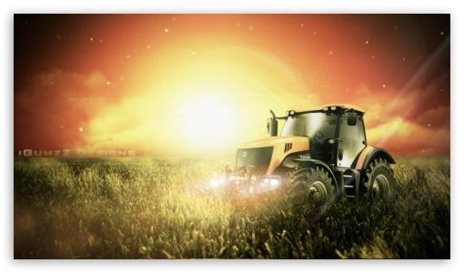 Declans Tractor 4K HD Desktop Wallpaper For 4K Ultra HD TV