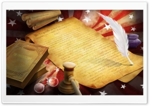 Declaration Of Independence HD Wide Wallpaper for Widescreen
