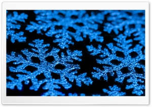 Decorative Snowflakes HD Wide Wallpaper for Widescreen