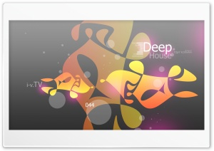 Deep House Music eQ SC Forty Four 2015 design by Tony Kokhan Ultra HD Wallpaper for 4K UHD Widescreen desktop, tablet & smartphone