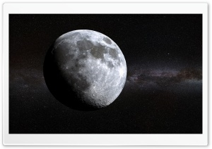 Deep Space Moon Ultra HD Wallpaper for 4K UHD Widescreen desktop, tablet & smartphone