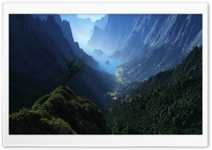 Deep Valley HD Wide Wallpaper for Widescreen