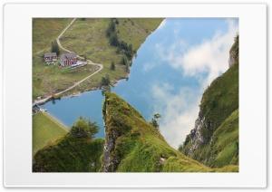 Deep View Lake Bannalp Switzerland Ultra HD Wallpaper for 4K UHD Widescreen desktop, tablet & smartphone