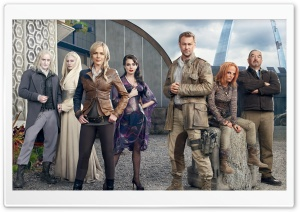 Defiance TV Series Cast HD Wide Wallpaper for 4K UHD Widescreen desktop & smartphone