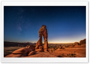 Delicate Arch landmark HD Wide Wallpaper for Widescreen