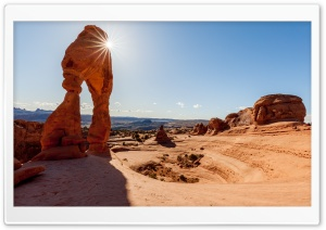 Delicate Arch Utah Landscape HD Wide Wallpaper for Widescreen