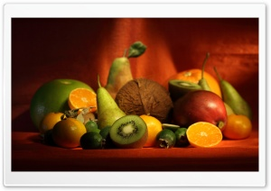 Delicious Fruits Display HD Wide Wallpaper for Widescreen