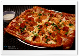 Delicious Pizza HD Wide Wallpaper for Widescreen