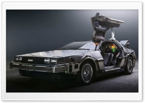 DeLorean HD Wide Wallpaper for Widescreen