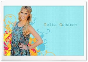 Delta Goodrem Hippie Look HD Wide Wallpaper for Widescreen